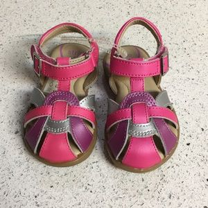 Stride Rite Kids Buckle Sandals 5.5
